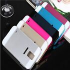 New Aluminum Metal Bumper PC Back Case Cover For Samsung Galaxy S4/S5 Note 2 3 4