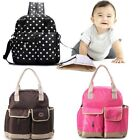 New Multi-function Mummy Backpack Baby Diaper Nappy Changing Bag Shoulders Tote