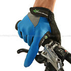 RockBros Full Finger Cycling Gloves Riding Sports Bicycle Gloves Blue