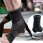 Ankle Support Foot Brace Sport Basketball Compression Sleeve Neoprene US Size