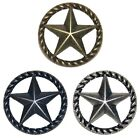 Thin RopeStar Drawer Pull Cabinet Knob Western Southwest Decor Texas Ranger Star
