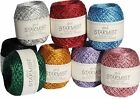 Starmist Decorative Glitter Thread By Jomil 20g Ball 22 Colour Choice Metallic