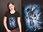 Alchemy Gothic Fitted Cotton Black T Shirt Skyggen Fairy The Dark Companion M/L