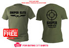 T Shirt Mens Dry Fit Short Sleeve Green Olive Sniper Army Military Snipers Army