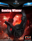 Lupus G1 Over-ear Gaming Headsets Earphones Headphones with Mic Stereo Bass