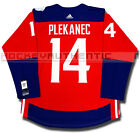 TOMAS PLEKANEC TEAM CZECH REPUBLIC PREMIER JERSEY ADIDAS 2016 WORLD CUP HOCKEY