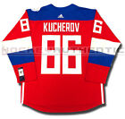 NIKITA KUCHEROV TEAM RUSSIA NEW PREMIER JERSEY ADIDAS 2016 WORLD CUP OF HOCKEY