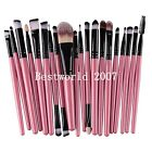 20PCS Foundation Eyeshadow Eyeliner Powder Make up Brushes Set Kabuki Tool