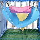 3 Colors Breathable Mesh Hammock Hanging Bed House Cage for Rat Hamster Mouse LJ