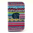 Flip Cute Painted Stand Wallet Leather Case Cover For Motorola Moto E 1st Gen