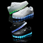 Fashion Unisex LED Luminous Shoes 7 Colors Dazzle Sports Sneakers For Kids