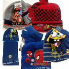 Disney Spiderman, Toy Story,Cars etc - GUANTI e CAPPELLO BIMBO/BAMBINO