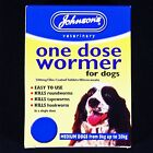 JOHNSONS 8-20kg DOG EASY WORMER SIZE 2 WORMING TABLETS KILL TAPEWORM & ROUNDWORM