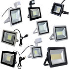 500W 300W 200W 150W 100W 50W 30W 20W 10W LED Floodlight Garden Spot Lamp w/ Plug