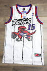Vince Carter #15 Toronto Raptors WhiteThrowback Retro Basketball Swingman New