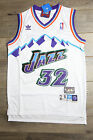 Karl Malone #32 Utah Jazz Jersey White Throwback White Vintage Classic New Retro on eBay