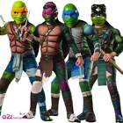 KIDS BOYS DELUXE TMNT TEENAGE MUTANT NINJA TURTLE HALLOWEEN FANCY DRESS COSTUME