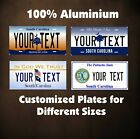 South Carolina Car Auto OR Motorcycle Custom Personalized License Plates Novelty