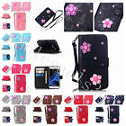 Stylish Luxury PU Leather Case Full Body Cover For Various Phones+Free Two Strap