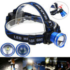 Zoomable 5000LM XM-L T6 LED Headlight Flashlight Head Lamp Light AA Battery
