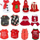 New Pet Warm Dog Cat Jacket Coat Puppy Clothes Winter Sweater Christmas Apparel