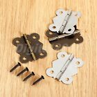 2pcs/10pcs Decorative Vintage Butterfly Hinges For Cabinet Drawer Jewelry Box