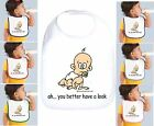 Rabbit Skins Infant Cotton Snap Bib You Better Have A Look
