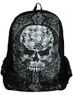 New Banned Gothic Skull Backpack