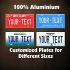 Missouri State Tag Custom Auto OR Motorcycle Novelty Personalized License Plates