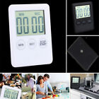 LCD Digital Kitchen Cooking Timer Count-Down Up Clock Loud Alarm Magnetic U.S.A