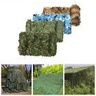 Camo Camouflage Net For Car Cover Camping Woodlands Military CS Hunting Shooting