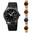 Kyпить Men's Akribos XXIV AK901 Sunray Dial Date Stainless Steel Mesh Bracelet Watch на еВаy.соm