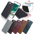 Pierre Cardin Genuine Leather Cover Hard Back Case Skin For Apple iPhone 7 Plus
