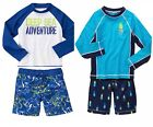 Gymboree Swim Boy Rash Guard Trunks Set NWT4 5 6 7 8 9 10 12 Retail Swimwear