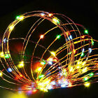 200 LEDs Waterproof Large Solar Pannel Starry String Copper Wire Fairy Lights