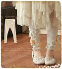 Sweet Lolita Artistic Dimensional Embroidered Fashion Mori Girls Pants#10-T-52