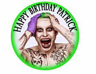 Joker Suicide Squad Superhero Custom birthday Party Cake Decoration icing sheet