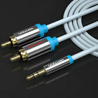 VENTION 1/2/3M 3.5mm Male Plug to Dual 2-RCA Jack Cable Stereo PC Audio Splitter