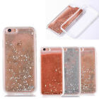 Dual Layer Bumper Sparkling Quicksand Hard PC Rubber Case For iPhone 6 6s Plus