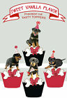Rottweiler dog breed Puppy Dog Party EDIBLE Cupcake Toppers PRECUT cup cake