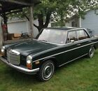 Mercedes-benz: 200-series Rare Running 1968 Mercedes-benz 230 Sedan, Made In Germany, Sunroof, Nice!