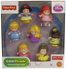 New! Fisher-price Little People Disney Princess Figure Pack
