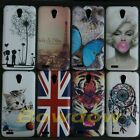 1x Dream Catcher UK US Cat Butterfly Tiger back hard Case cover for Lenovo S650