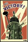 DOCTOR WHO - FRAMED TV SHOW POSTER / PRINT (DALEKS - TO VICTORY) (DR. WHO)