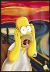 THE SIMPSONS - FRAMED TV SHOW POSTER / PRINT (HOMER SIMPSON - THE SCREAM)