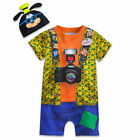 Disney Store Parks Authentic Goofy Baby Costume Outfit & Hat Boys 6 12 18 Months