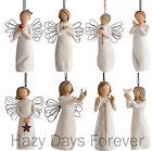 WILLOW TREE Hanging Christmas Tree Ornaments Decorations Figurines BUY 2 SAVE £2