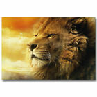 Chronicles Of Narnia Aslan Lion Wild Animals  - Art Silk Poster Deco 0387