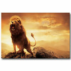 Chronicles Of Narnia Aslan Lion Wild Animals  - Art Silk Poster Deco 0389