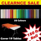 150ft Plastic Banquet Roll Party Catering Table Cover Cloth Tableware tata- wrap